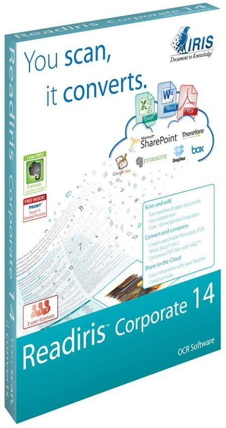 Readiris Corporate ESD 14.0.3 MacOsX OCR识别软件