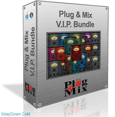 Plug And Mix V.I.P Bundle v3.0.3 贵宾插件综合效果包