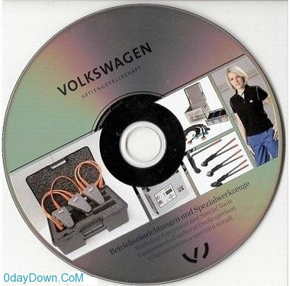 Volkswagen Flash DVD V.72 (01.4.2013)