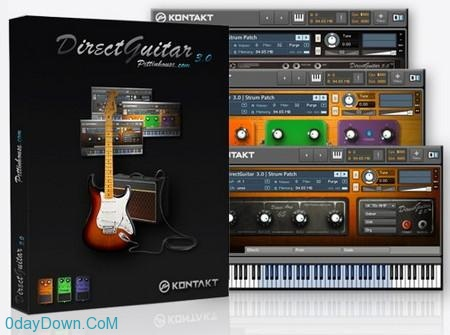 Pettinhouse Direct Guitar 3.0 KONTAKT DVDR 电吉他音源