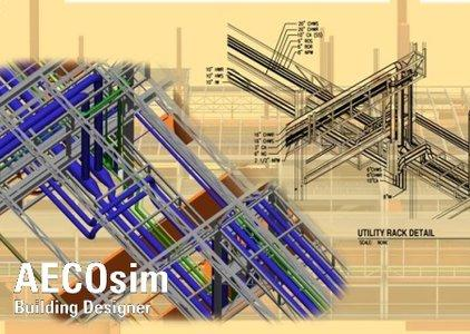 Bentley AECOsim Building Designer V8i (SELECTSeries 3) 08.11.09.376 针对建筑领域的跨领域信息建模