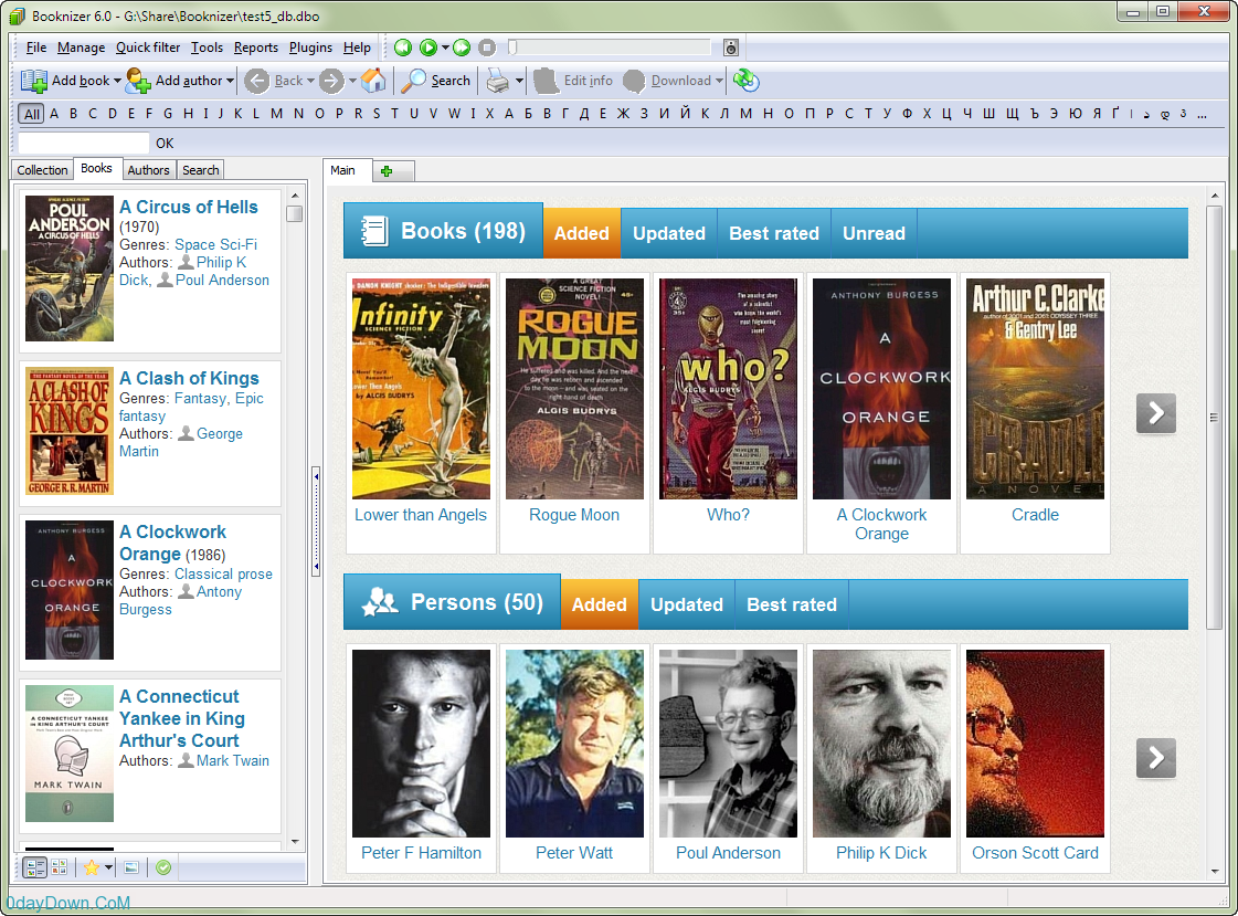 Booknizer 6.0.370 Multilanguage