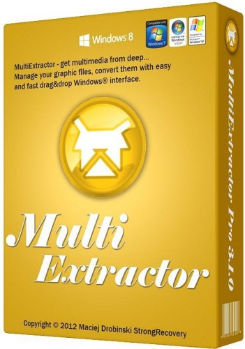 MultiExtractor Pro 3.3.0 Portable 文档媒体资源提取器