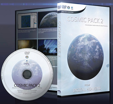 数字天堂 - 宇宙纹理贴图素材2 Digital Heavens - Cosmic Pack 2 for Adobe Photoshop Elements