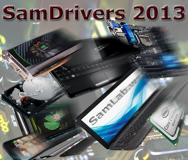 SamDrivers 13.14 Multilingual DVD Edition