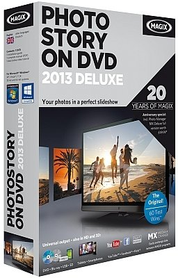 MAGIX PhotoStory on DVD 2013 Deluxe 12.0.4.83 多媒体幻灯片制作