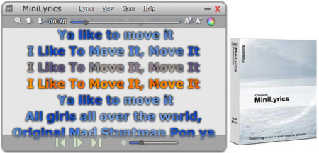 MiniLyrics 7.6.47 Multilanguage 迷你歌词