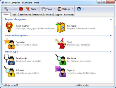 SiSoftware Sandra Business / Personal 2013.09.19.58 系统分析评测工具