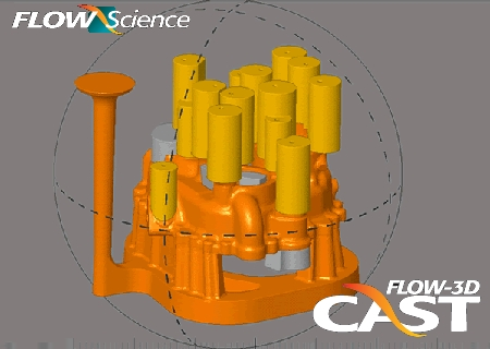 FLOW-3D CAST Advanced 3.5.2 铸造CAE模拟软件