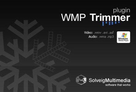 SolveigMM WMP Trimmer Plugin 2.1.1303.05 Multilingual 视频音频处理插件