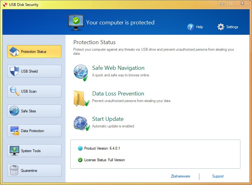 USB Disk Security 6.4.0.1