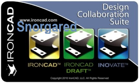 IronCAD Design Collaboration Suite 2012 HF1 14 2012 (x86) [2012, ENG]