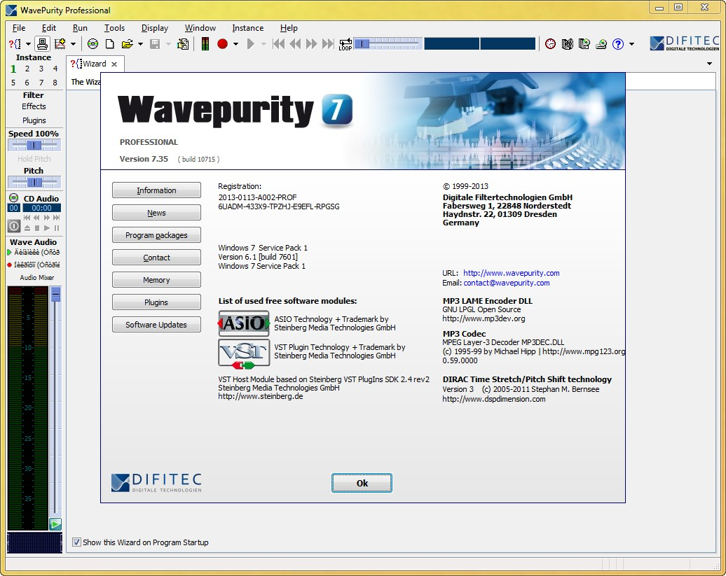 WavePurity Professional 7.35