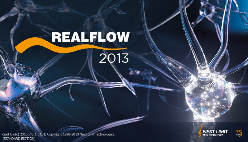 NextLimit RealFlow v2013 Unlimited Pack (Win/MacOSX/Linux)流体动力学模拟软件