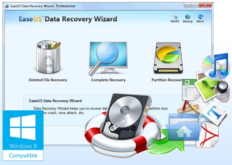 EaseUS Data Recovery Wizard Professional 7.5 Full Version Lifetime License Serial Product Key Activated Crack Installer