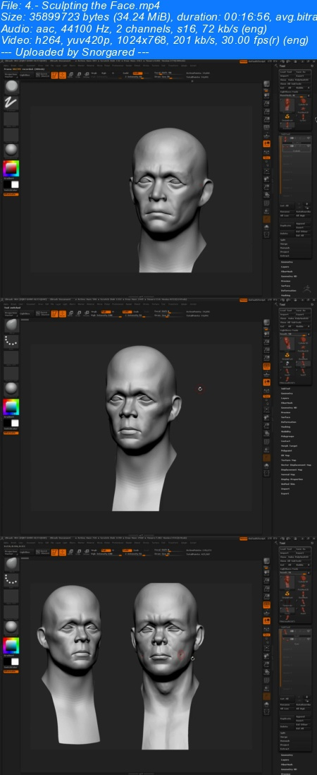 ZBrushWorkshops-Introduction to Character Creation for Games