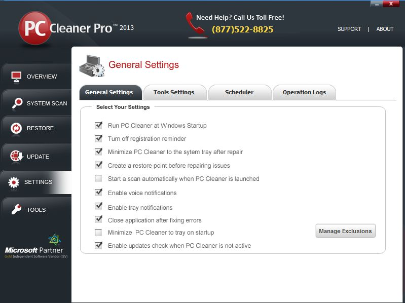 PC Cleaner Pro 2013 12.0.13.11.15 电脑修复