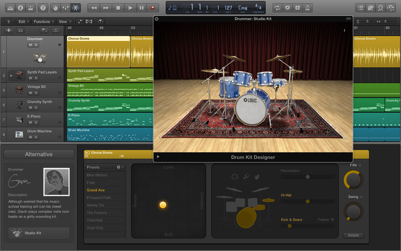 Apple Logic Pro X 10.3.2 Multilingual MacOSX