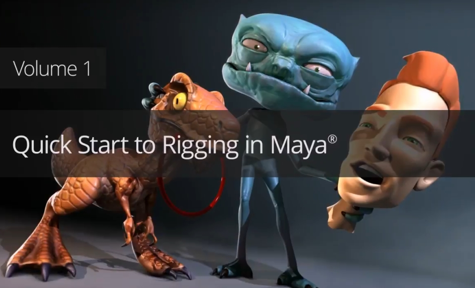 Dixxl Tuxxs - Quick Start to Rigging in Maya: Volume 1 | Maya 2014绑定设置快速启动教程