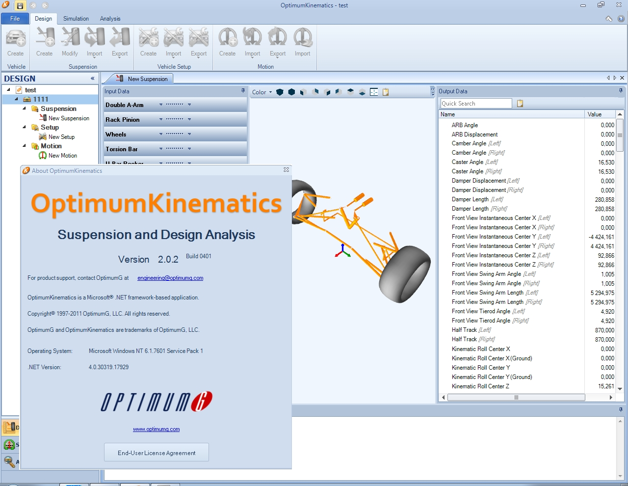 OptimumKinematics 2.0.2