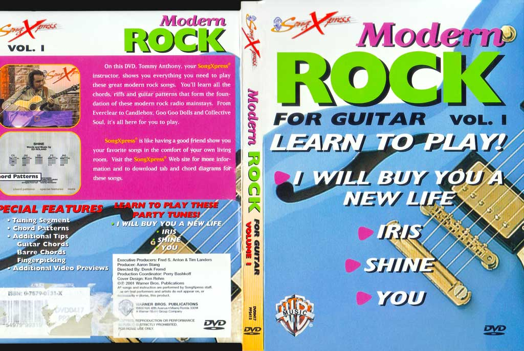 现代摇滚吉他教程V1 SongXpress - Modern Rock For Guitar - V1 - DVD (2001)