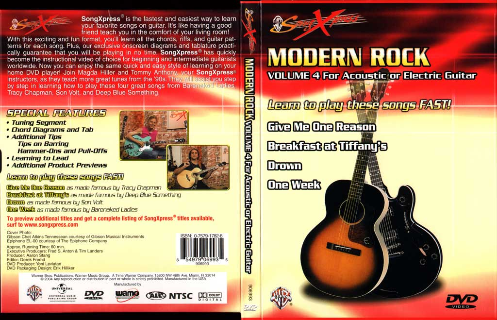 现代摇滚吉他教程V4 SongXpress - Modern Rock For Guitar - V4 - DVD (2004)