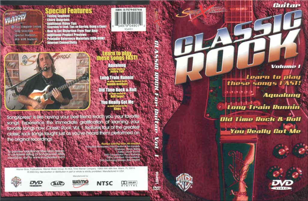古典摇滚吉他教程V1 SongXpress - Classic Rock For Guitar - V1 - DVD (2003)