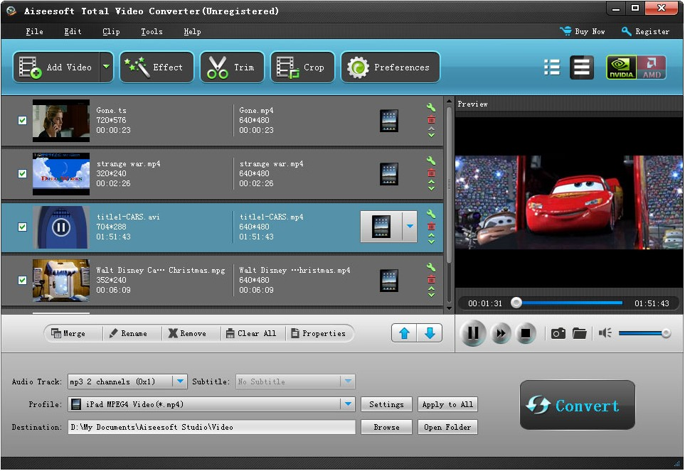 Aiseesoft Total Video Converter 6.2.78
