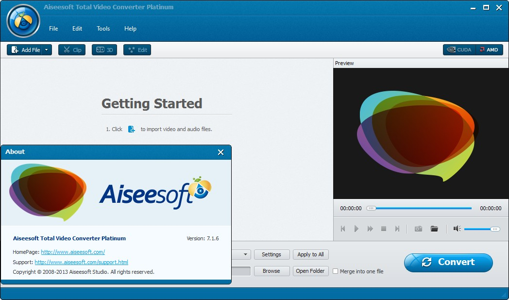 Aiseesoft Total Video Converter Platinum 7.1.6