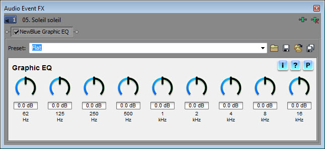 NewBlue Audio Equalizers 1.3