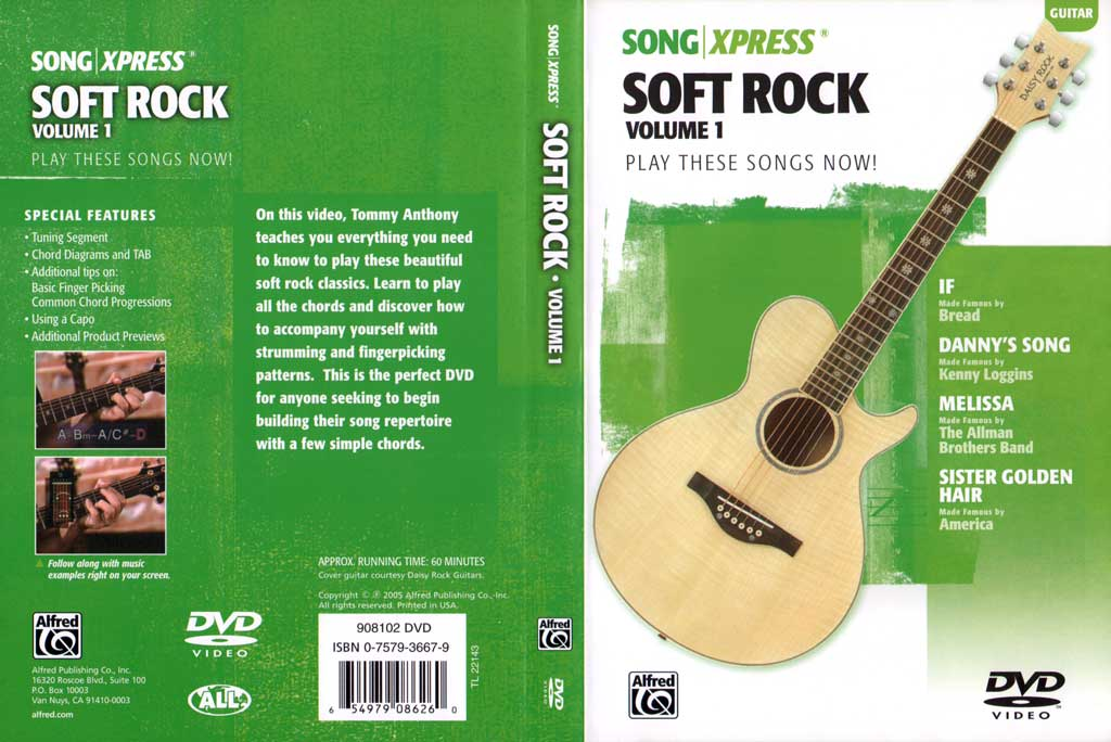 慢摇滚吉他教程V1 SongXpress - Soft Rock For Guitar - V1 - DVD (2005)