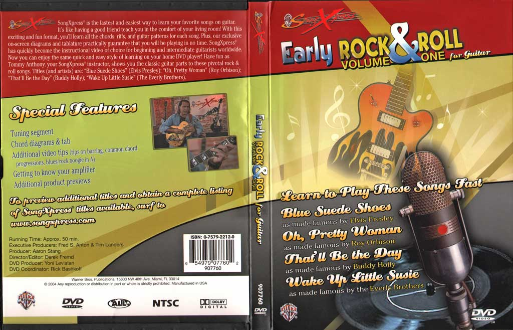 Early摇滚吉他教程V1 SongXpress - Early Rock & Roll For Guitar - V1 - DVD (2004)