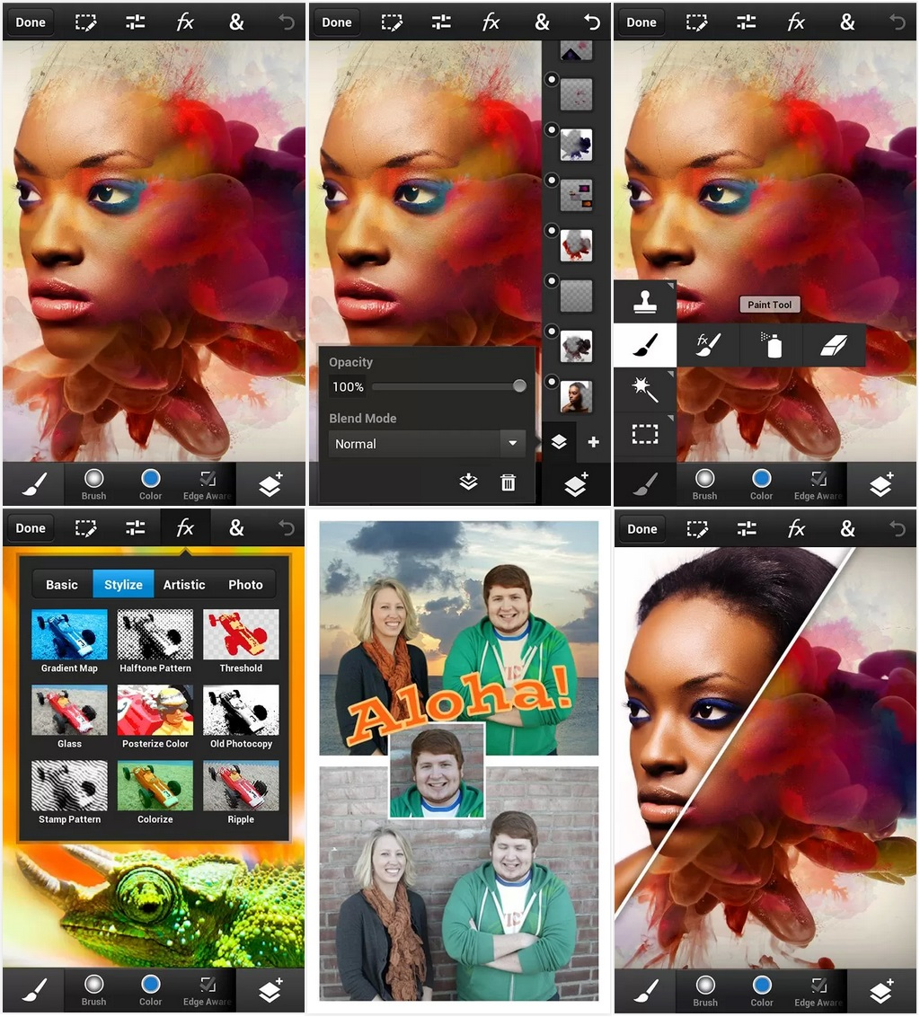 Photoshop Touch for phonе v.1.1.1