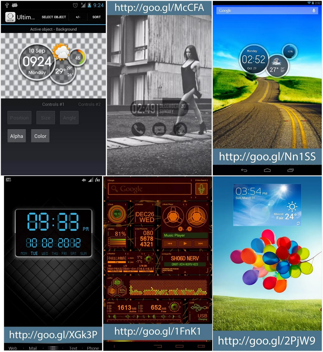 Ultimate custom widget (UCCW) v2.9.9.1