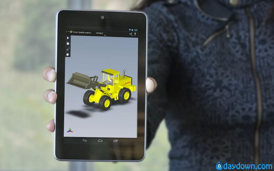 eDrawings for Android 在手机上查看2D/3D SolidWorks图档