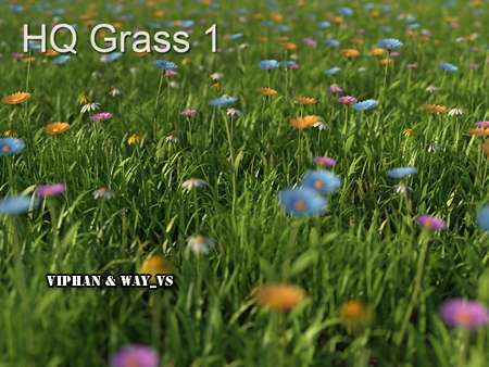 Mentor Plants HQ Grass 1 for 3ds max vray/mentalray