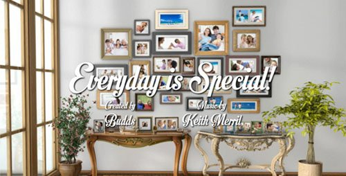 Everyday is Special - VideoHive After Effects Project