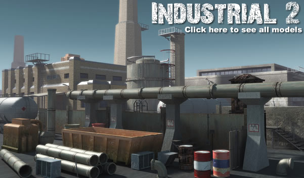Industrial 2. model pack