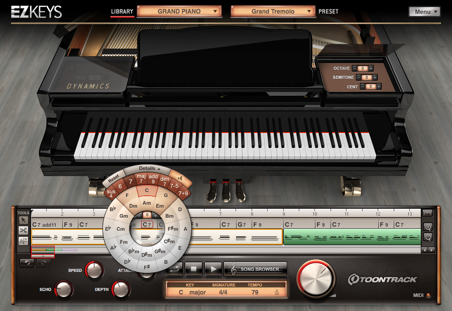 ToonTrack EZkeys Grand Piano 1.0.2 WIN OSX