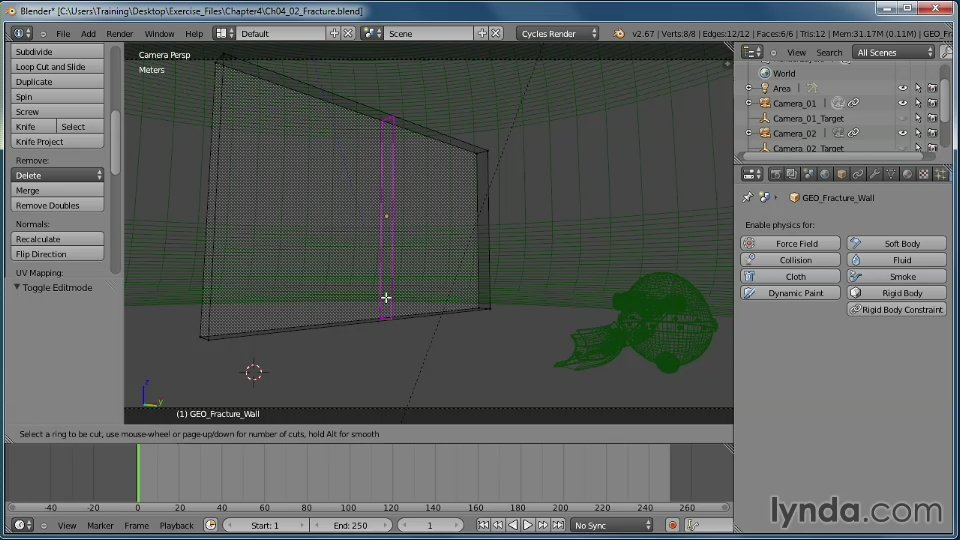 Lynda.com - Creating Rigid Body Simulations in Blender (2013)