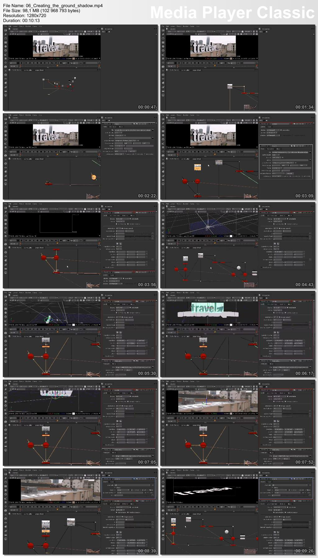 Dixxl Tuxxs - Integrating 3D Titles into Footage in NUKEX