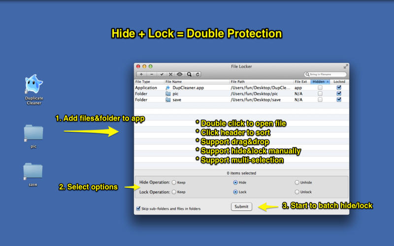 File Locker v2.7 Mac OS X