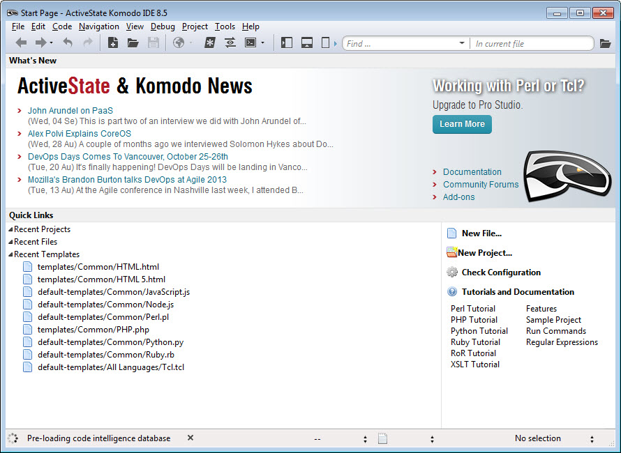 ActiveState Komodo IDE 8.5.0.81977 for (Win/Mac)