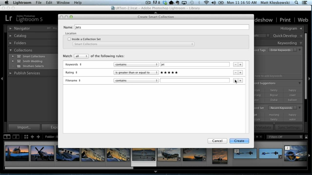 Lightroom 5 In Depth: Importing, Catalogs, and Organizing Your Photos with Matt Kloskowski