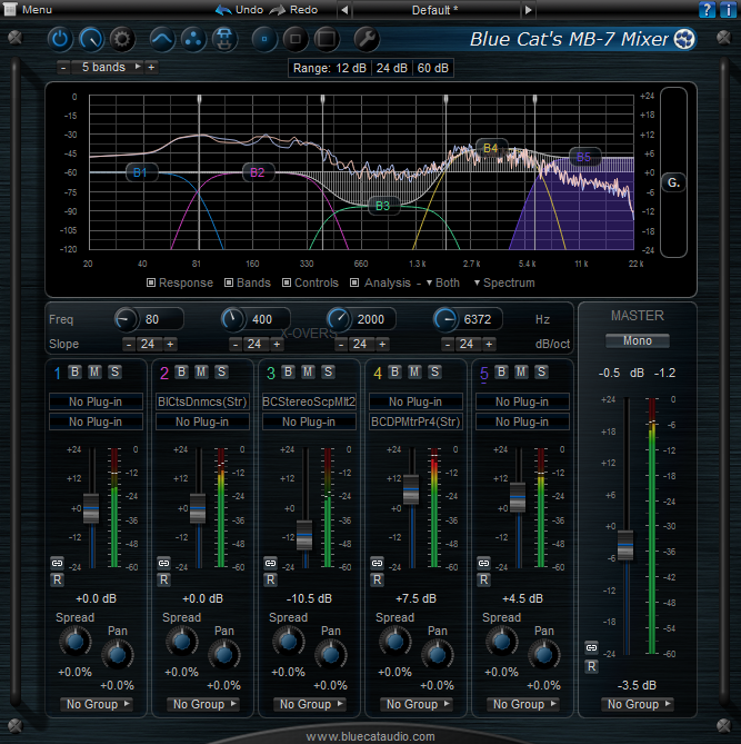 Blue Cat Audio Blue Cats MB-7 Mixer v2.01