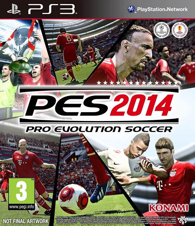 Pro Evolution Soccer 2014 Update v1.01-RELOADED