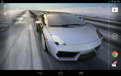 3D Car Live Wallpaper Pro v1.6