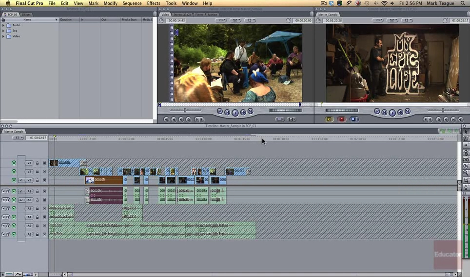 Educator.com - Introduction to Final Cut Pro 7 (2013)