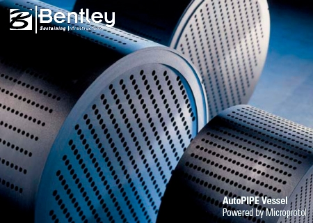 Bentley AutoPIPE Vessel (Microprotol) V8i 33.01.00.11
