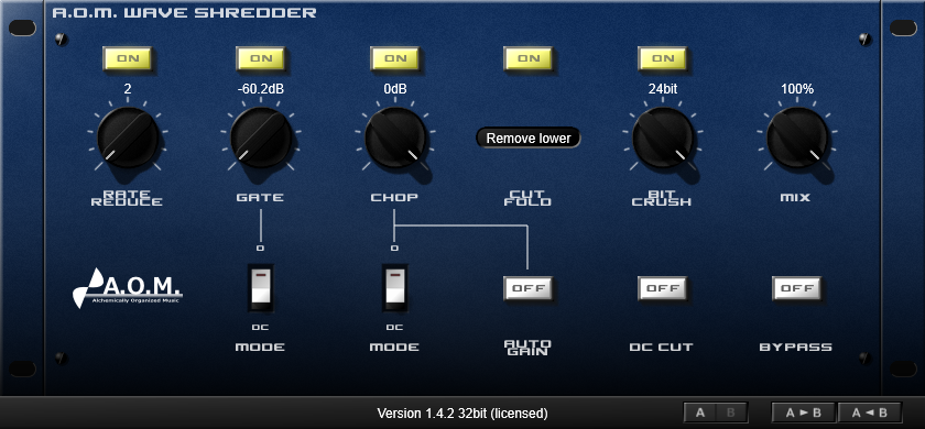 AOM Factory Wave Shredder v1.5.4